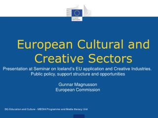 European Cultural and Creative Sectors