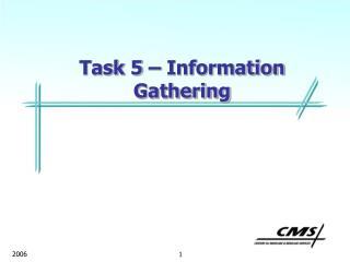 Task 5 – Information Gathering