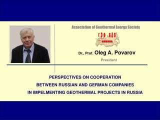 PERSPECTIVES ON COOPERATION  BETWEEN RUSSIAN AND GERMAN COMPANIES
