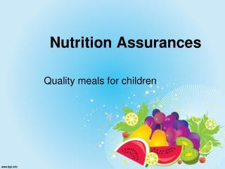 Nutrition Assurances