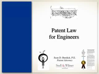 Patent Law for Engineers