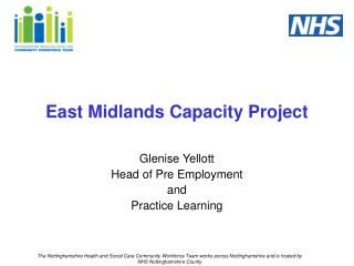 East Midlands Capacity Project