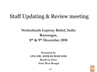 Staff Updating & Review meeting