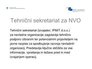 Tehnični sekretariat za NVO