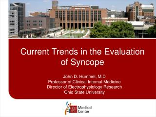Current Trends in the Evaluation of Syncope