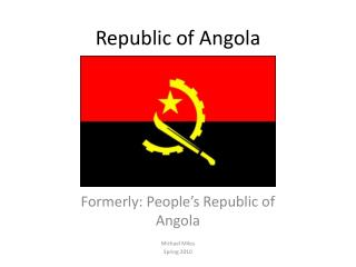 Republic of Angola