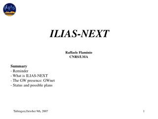 ILIAS-NEXT