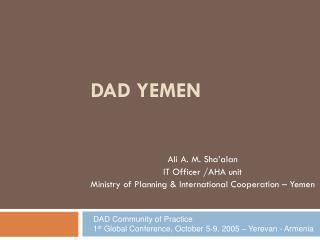 DAD Yemen