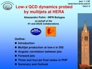 Low- x  QCD dynamics probed by multijets at HERA
