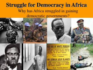 Struggle for Democracy in Africa