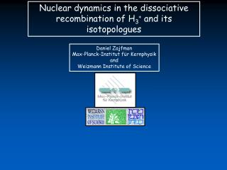 Nuclear dynamics in the dissociative recombination of H 3 +  and its isotopologues