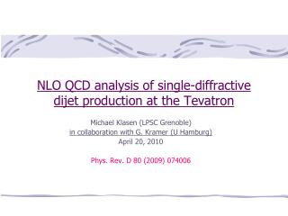 NLO QCD analysis of single-diffractive dijet production at the Tevatron