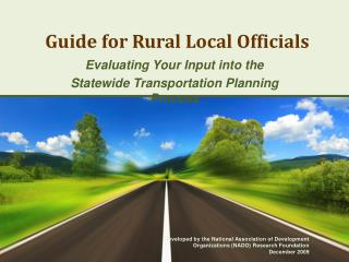 Guide for Rural Local Officials
