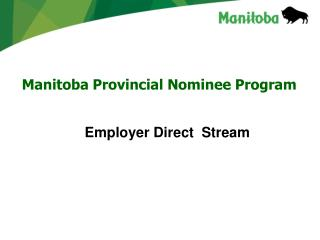 Manitoba Provincial Nominee Program