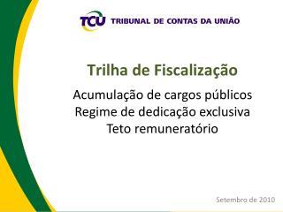 Acumulação de cargos públicos Regime de dedicação exclusiva Teto remuneratório