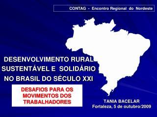 DESAFIOS PARA OS MOVIMENTOS DOS TRABALHADORES