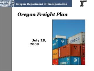 Oregon Freight Plan