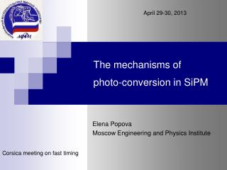 The mechanisms of  photo-conversion in SiPM