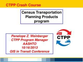 CTPP Crash Course
