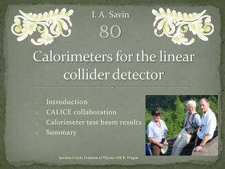 Calorimeters for the linear collider detector