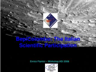 BepiColombo: The Italian Scientific Participation