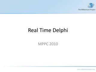 Real Time Delphi