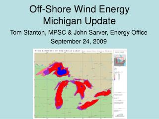 Off-Shore Wind Energy Michigan Update
