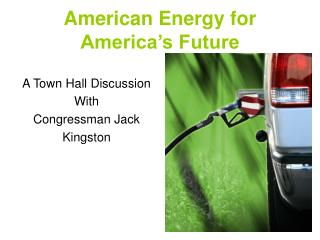 American Energy for  America's Future