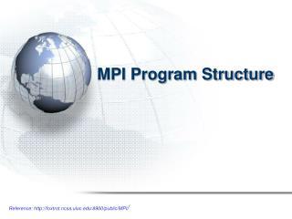 MPI Program Structure