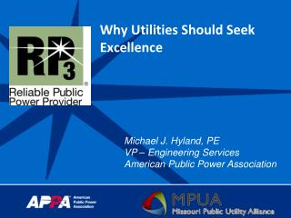 Why Utilities Should Seek Excellence