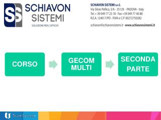 GECOM MULTI � SECONDA PARTE