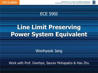 Line Limit Preserving Power System Equivalent