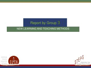 Report by Group  3