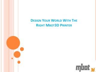 Professional Desktop 3D Printing Machine