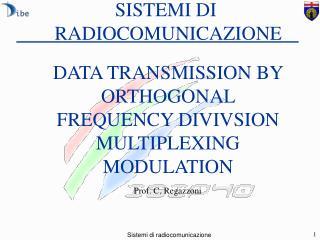 SISTEMI DI  RADIOCOMUNICAZIONE