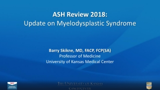 Treatment Options for Myelodysplastic Syndromes
