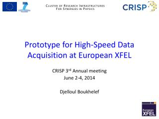 Prototype for High-Speed Data Acquisition at European  XFEL