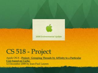 CS 518 - Project