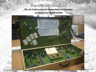 Das - OSI - Schichtenmodell Über die Funktionsweise der Kommunikation in Netzwerken