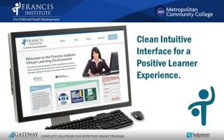 Clean Intuitive Interface for a Positive Learner Experience.