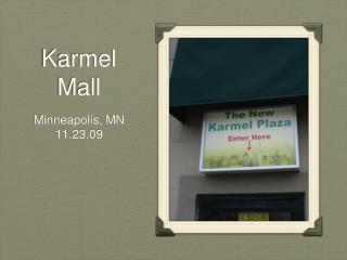 Karmel Mall