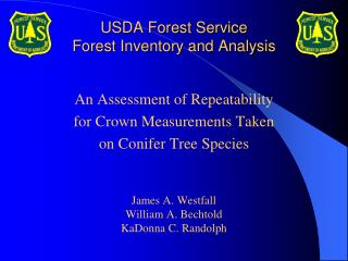 USDA Forest Service Forest Inventory and Analysis
