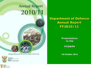 Department of Defence  Annual Report  FY2010/11