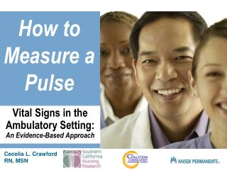 How to Measure a Pulse