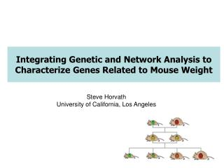 Integrating Genetic and Network Analysis to Characterize Genes Related to Mouse Weight