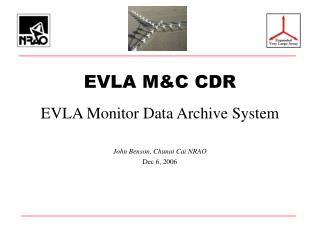 EVLA M&C CDR