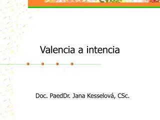 Valencia a intencia