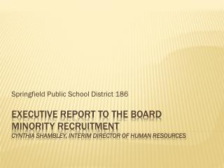 Springfield Public School District 186