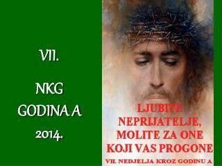 VII.  NKG GODINA A 2014.