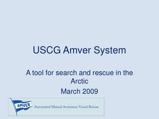 USCG Amver System